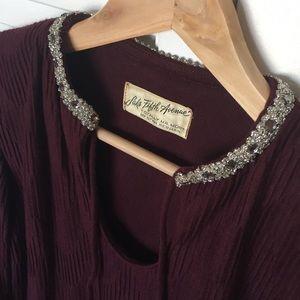 Saks Fifth Avenue Vintage 60's Women's Shirt/Tunic